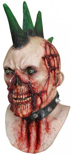 Masque punk ensanglanté adulte Halloween