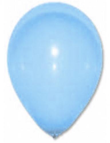 24 Ballons turquoises 25 cm