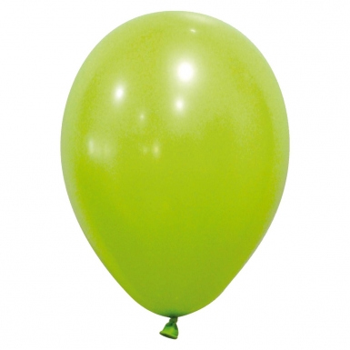 12 Ballons verts clairs 28 cm-1