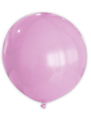 Ballon géant rose 80 cm