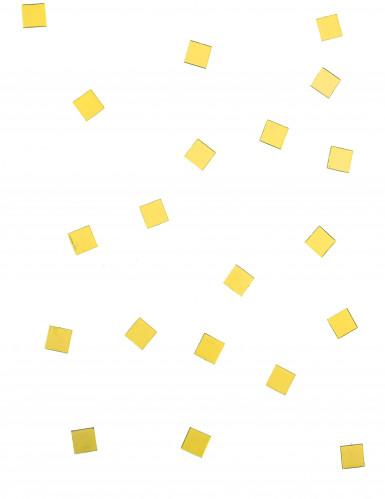 20 Mini miroirs carrés jaunes-1