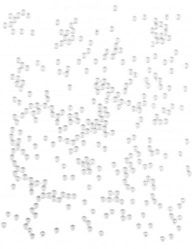 Perles effet goutte de pluie transparentes 80 g-1