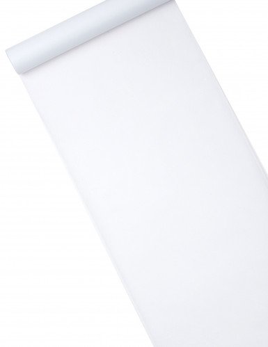 Chemin de table intissé blanc 29 cm x 10 m