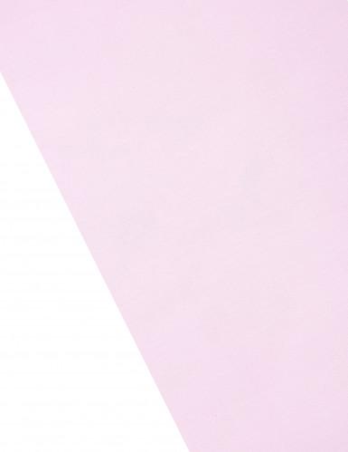 Chemin de table organza brillant fuchsia 5 m-1