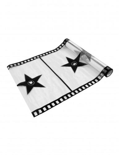 Chemin de table organza blanc cinéma 28 cm x 5 m