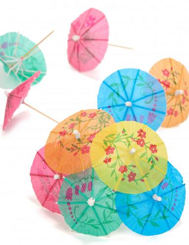 10 Pics en bois ombrelles 10 cm