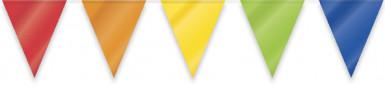 Bannière multicolore