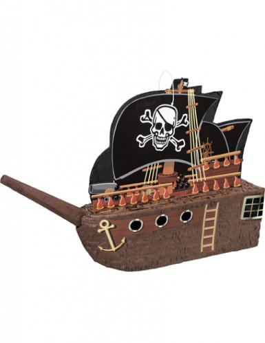 Pinata bateau de pirate 27 x 31 cm