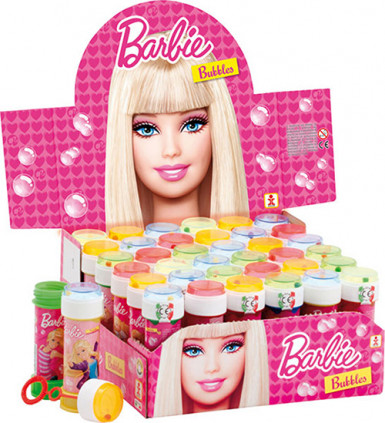 1 Flacon de bulles de savon Barbie™ 60 ml