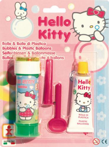 1 Flacon de bulles de savon et 1 Pâte à ballons Hello Kitty™