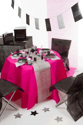 10 Housses de chaise Premium noires 50 x 95 cm-1
