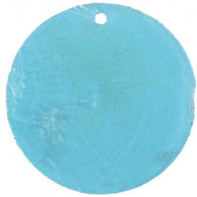 6 Marque-places nacreTurquoise