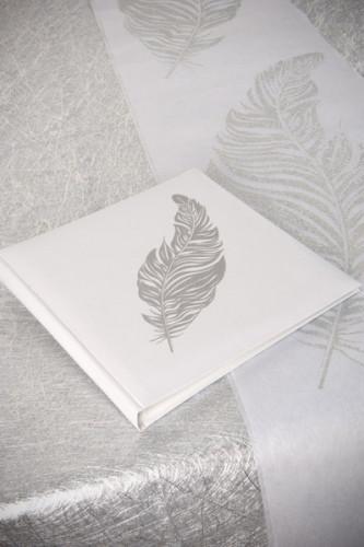 Livre D'or plume Argent-2