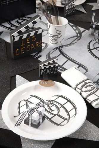 Ruban Cinéma Blanc et Noir -1