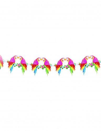 Guirlande perroquet Hawaï