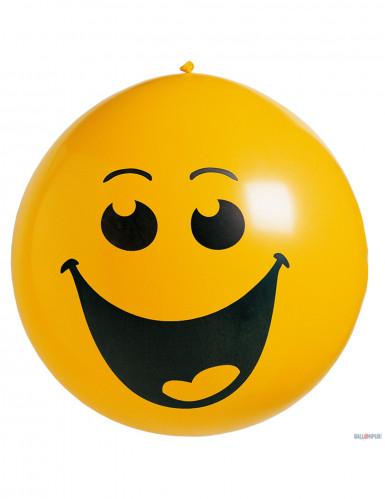 Ballon géant sourire