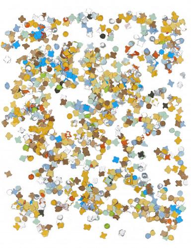 Sachet Confettis multicolores 100 grammes-1