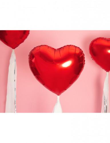 Ballon aluminium coeur rouge 60 cm-1