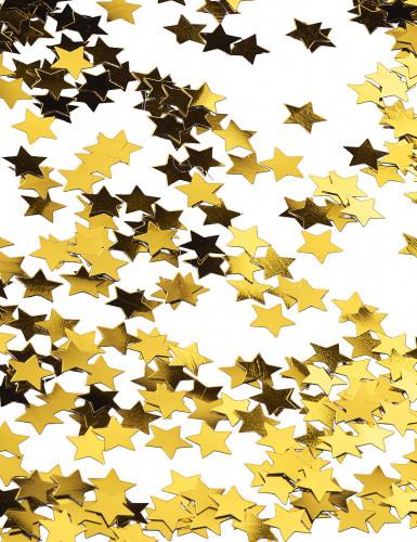 Confettis étoiles métallisés or-2