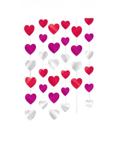 Décorations à suspendre coeurs
