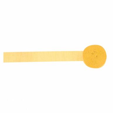 Rouleau papier crépon jaune pâle