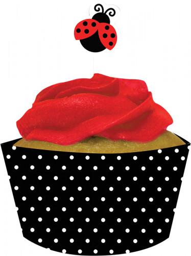 Kit pour Cupcakes Coccinelle