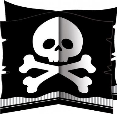 Centre de table Pirate Party