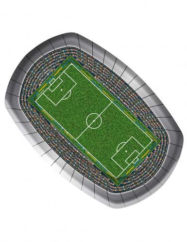 8 assiettes carton Stade De Foot