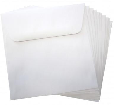 10 enveloppes blanche papier Hippo