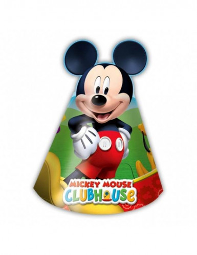 6 chapeaux carton Mickey Mouse™