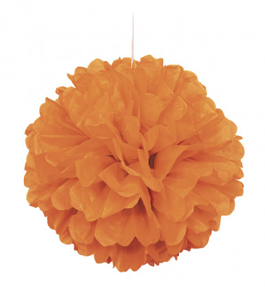 Boule décorative orange