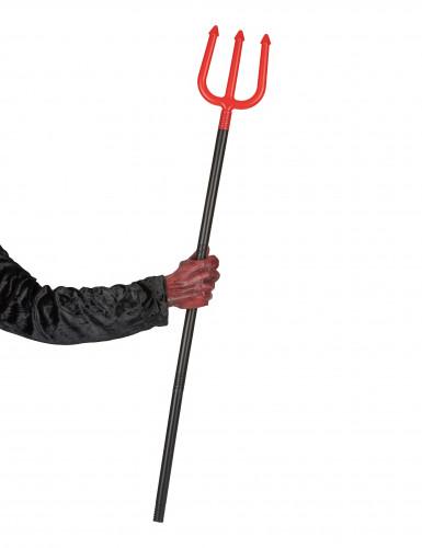 Fourche rouge diable 120 cm-1