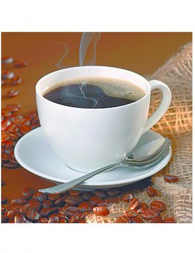 20 Serviettes en papier Tasse de café 33 x 33 cm