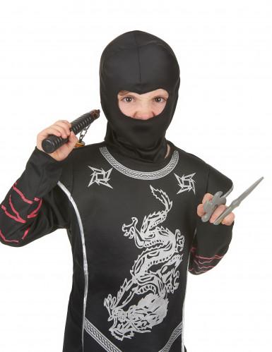 Kit ninja nunchaku enfant en plastique-1