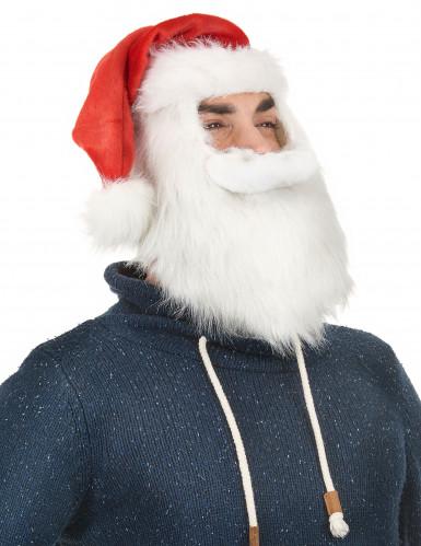 Bonnet de Noël avec barbe-1