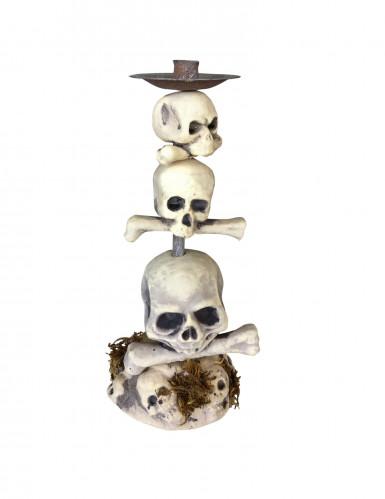 Chandelier tête de mort