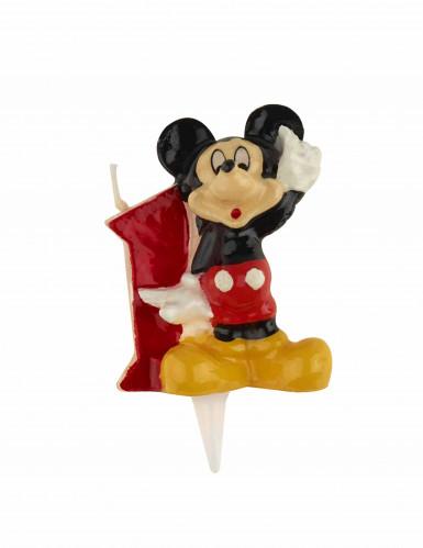Bougie chiffre 1 Mickey™