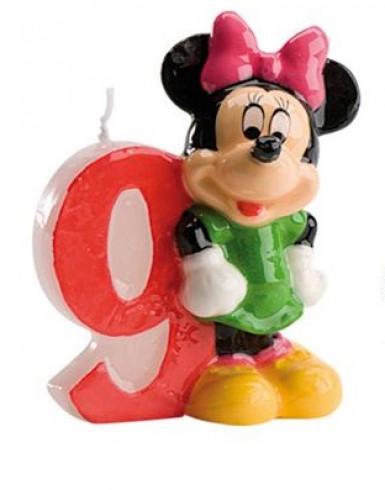 Bougie numéro 9 Minnie™