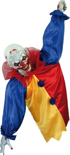 Décoration clown effrayant Halloween