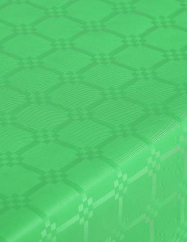 Nappe en rouleau papier damassé menthe-1