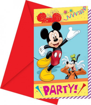 Invitations Mickey carnaval