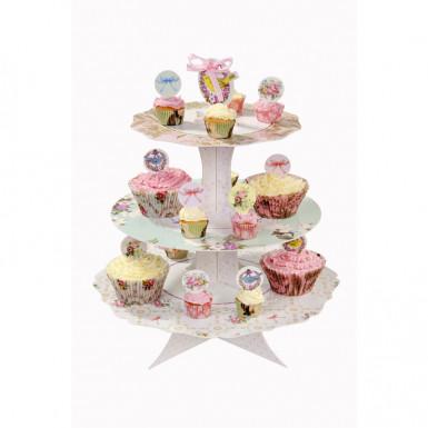 Pics en carton pour cupcakes Thé entre copines-1