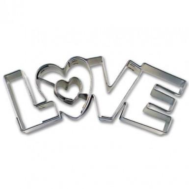 Emporte pièces LOVE