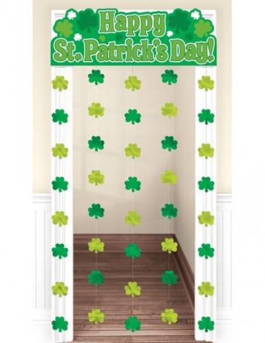 Décoration de porte St Patrick