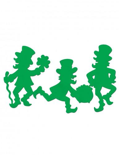 3 Décorations cartonnées Léprechaun St Patrick
