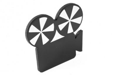Marque place caméra Cinéma 5 x 6 cm