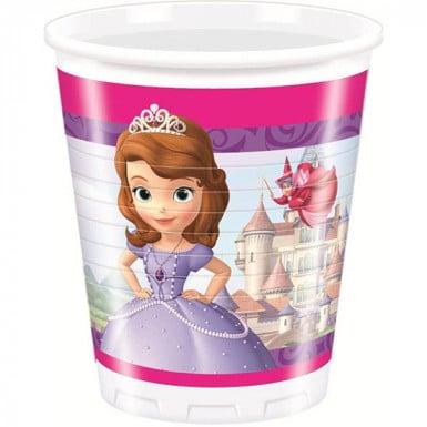 8 Gobelets Princesse Sofia™