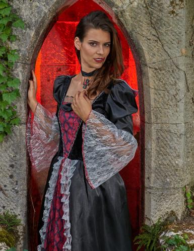 Déguisement deluxe vampire baroque femme-4