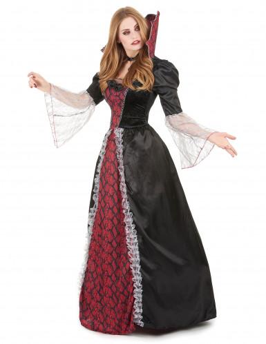 Déguisement deluxe vampire baroque femme-1