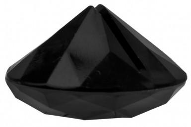 4 Marques-places diamants noirs